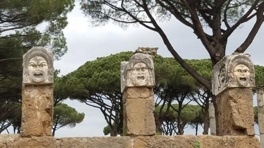 Statues, Ostia Antics.