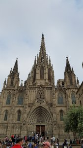 Barcelona Cathedral.