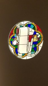 Gaudi Stained glass window example.