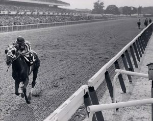 Secretariat wins the 1973 Belmont
