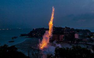 Cai Guo-Qiang, Sky Ladder