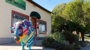 Custer SD buffalo statue
