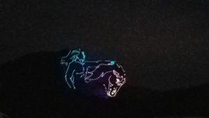 Crazy Horse light show