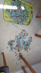 Puzzle piece tragedy