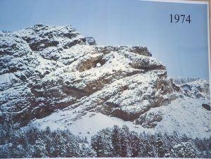 Crazy Horse Memorial 1974