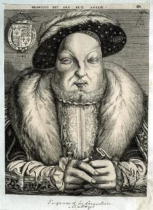 Henry VIII woodcut