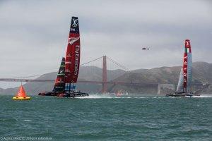 Tall triangle sails