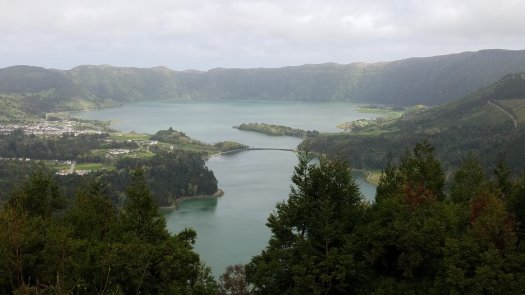 Blue & Green lakes of Sao Miguel