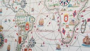 Lisbon maritime map