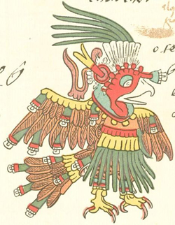 Aztec turkey god