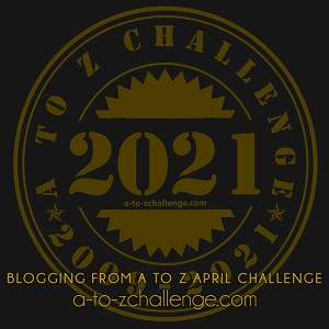 badge a to z challenge 2021