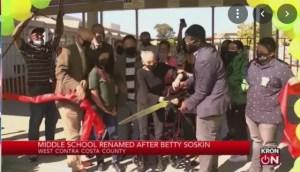 100-year-old Betty Reid Soskin ribbon-cutting ceremony