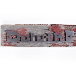 Duluth on Barn Wood