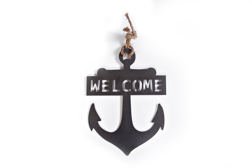 Anchor Welcome SIgn