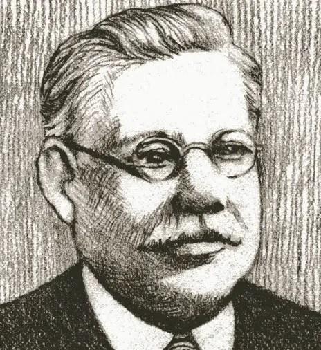 A portrait sketch of Charles Hose. Credit: Public Domain.