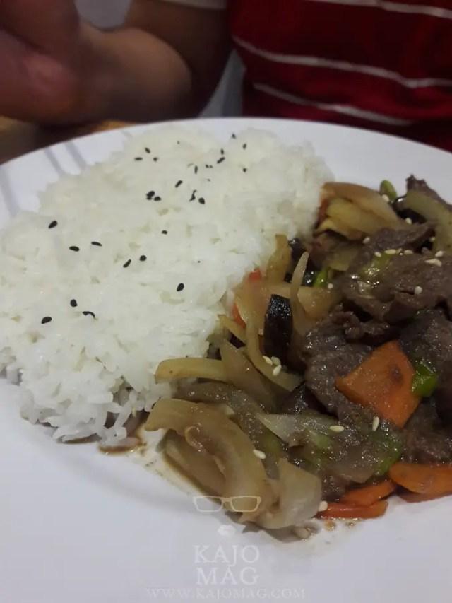 Bulgogi rice