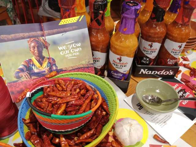 The African bird eye chilli is the heart of Nando's great flavour and PERi-PERi sauces.