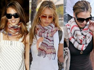 Как правильно выбрать шарф?