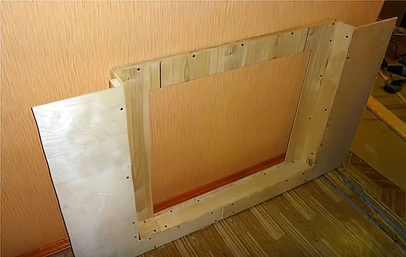 Decorative fireplace with your own hands: Step-by-step instructions, how to make a fireplace (60+ photos)