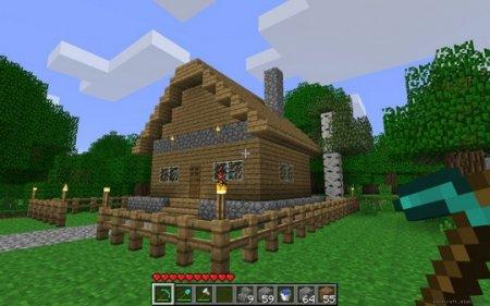 Cara Membangun Pagar di Minecraft