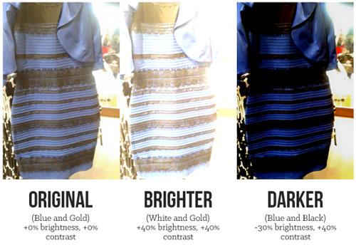 Какой цвет платья? Платье синее или белое? Платье которое ...
