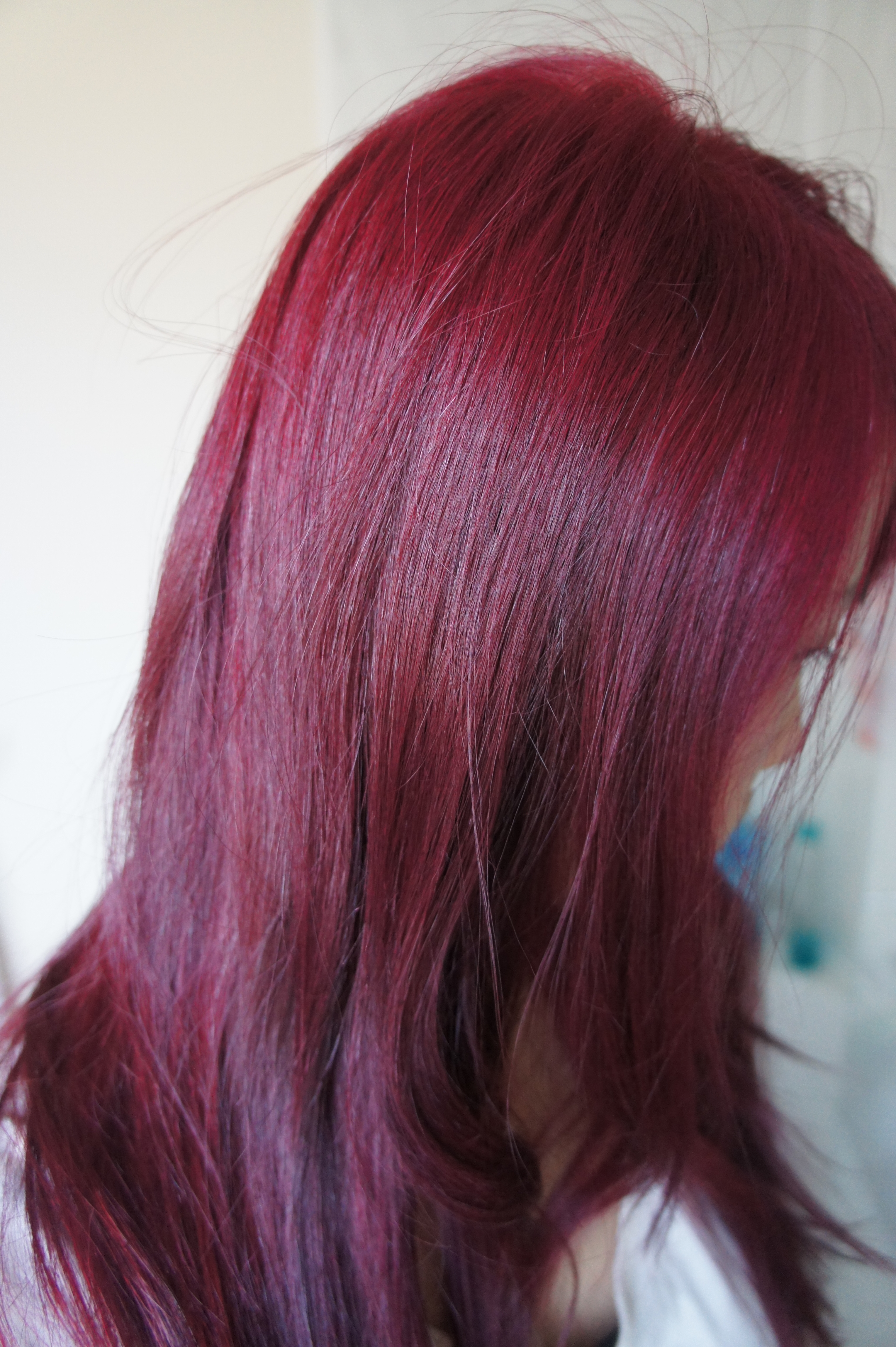 Seeing Red At Home Diy Hair Colouring
