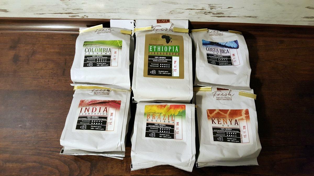MK Cafe Fresh świeżo palone kawy ziarniste
