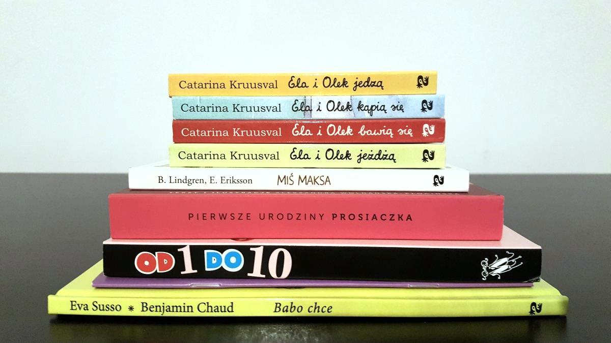 Książki 6mc+ i 12mc+ idealne na prezent cz. I