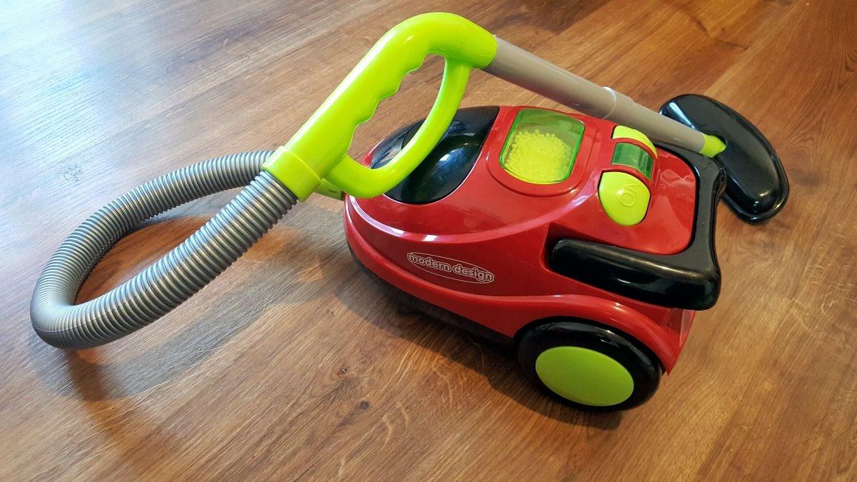 Odkurzacz dla dzieci na baterie Lean Toys