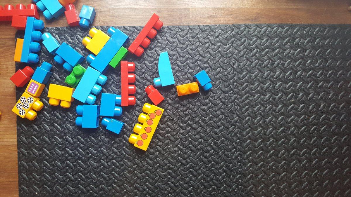 Mata piankowa puzzle fitness Axer Sport