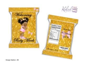 (4) Baby Princess Nike (Pink-Gold)