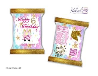 (6) Unicorn Birthday
