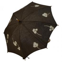 麻の日傘ポピー