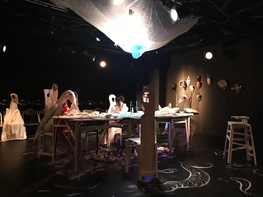 劇団・渡辺源四郎商店の「山下昇平となべげんのアートお化け屋敷」