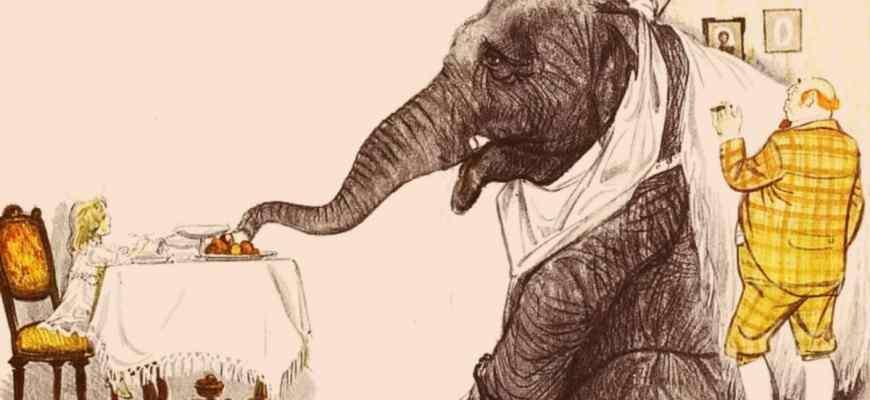 """Смысл рассказа """"Слон"""" Куприна"""