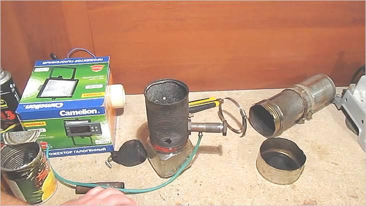 チューブは継手に接続し、コンプレッサーをオンにします