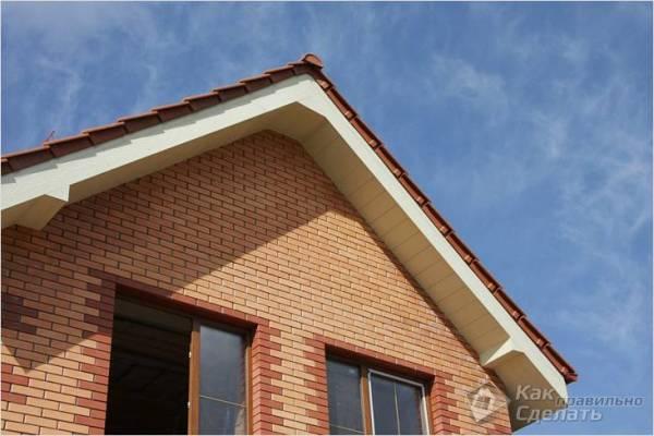 Подшивка свесов крыши инструкция по подшивке свесов