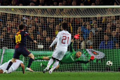 Barcelona vs Ac Milan 2nd leg UEFA Champions League 8