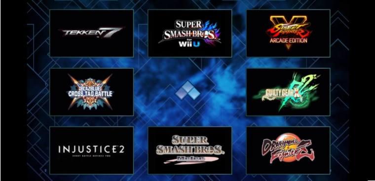 evo2018 lineup