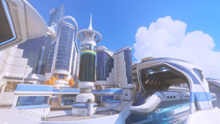 Teams can dive in and battle for control of three prominent locations within one map Sanctuary, Downtown, and MEKA Base