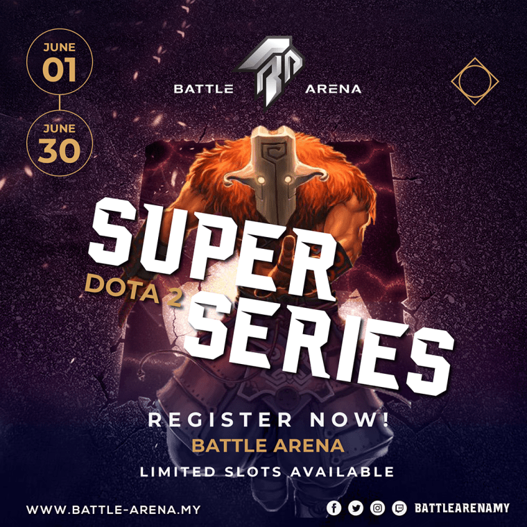 Battle Arena Super Series Dota 2