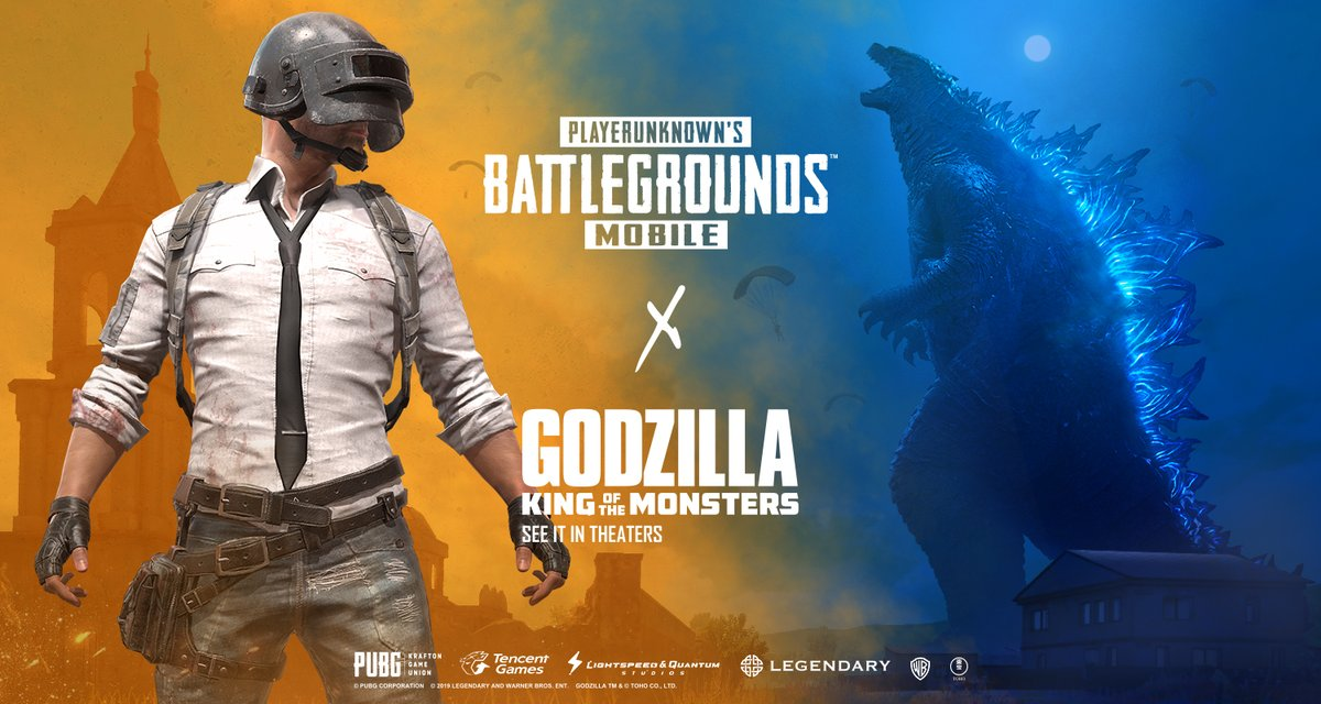 Godzilla Will Be Stomping Into PUBG Mobile Soon