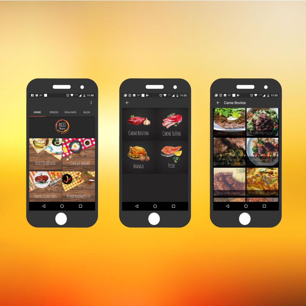 Paleo Menu App