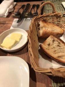 ル・クロ・ド・クロのパン