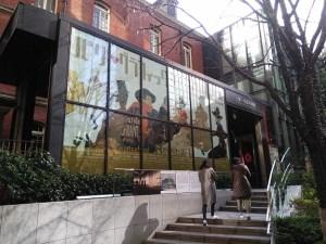 三菱一号館美術館の入口