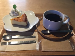 kaicocafeケーキセット
