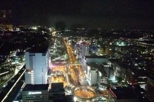 トップオブヨコハマ 夜景