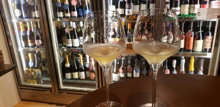白ワインの見比べ