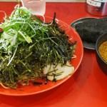 本場広島の ばくだん屋のつけ麺 ごまたっぷりでウマ!