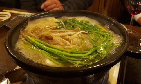 秋月の 鴨すき鍋 は激ウマ! うどん、雑炊とガッツリ楽しみました!